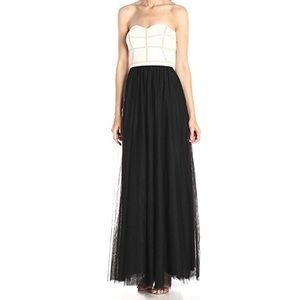 NWT JS Collections Strapless dress